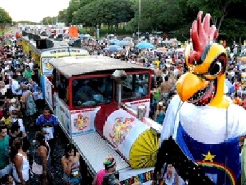 Galinho de Brasília homenageia os 50 anos de fundação da cidade