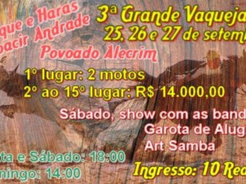 Vaquejada do Parque Moacir Andrade marca o final de semana