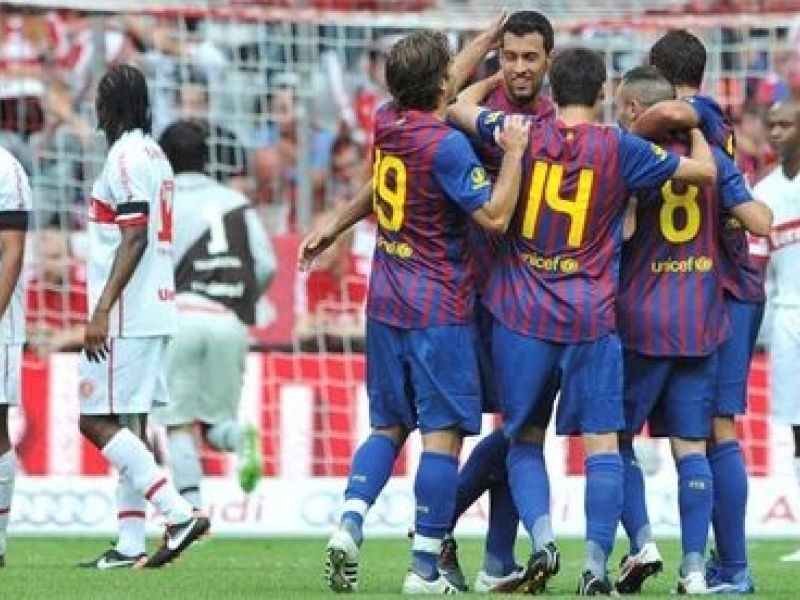 Nos pênaltis, Inter perde do Barcelona na disputa da Copa Audi