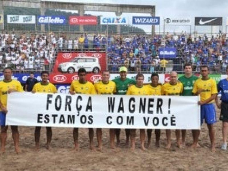 Beach Soccer: Brasil derrota o Uruguai duas vezes em João Pessoa