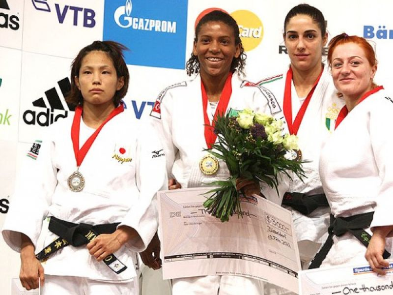 Judô: Brasileira conquista medalha de ouro na Alemanha