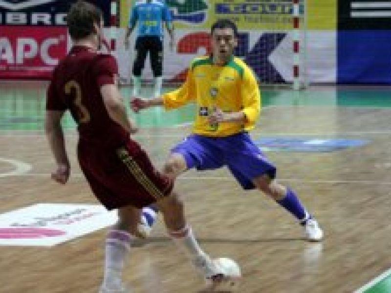 Futsal: Brasil tenta a revanche diante da Rússia