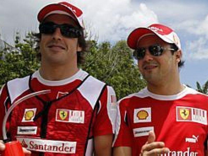 Presidente da Ferrari promete tratamento igual para seus pilotos em 2011