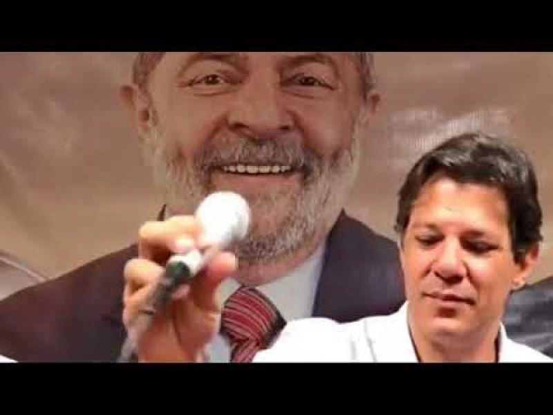 """Haddad em Maceió: """"Quem tem que decidir quem vai ser o presidente é o povo"""