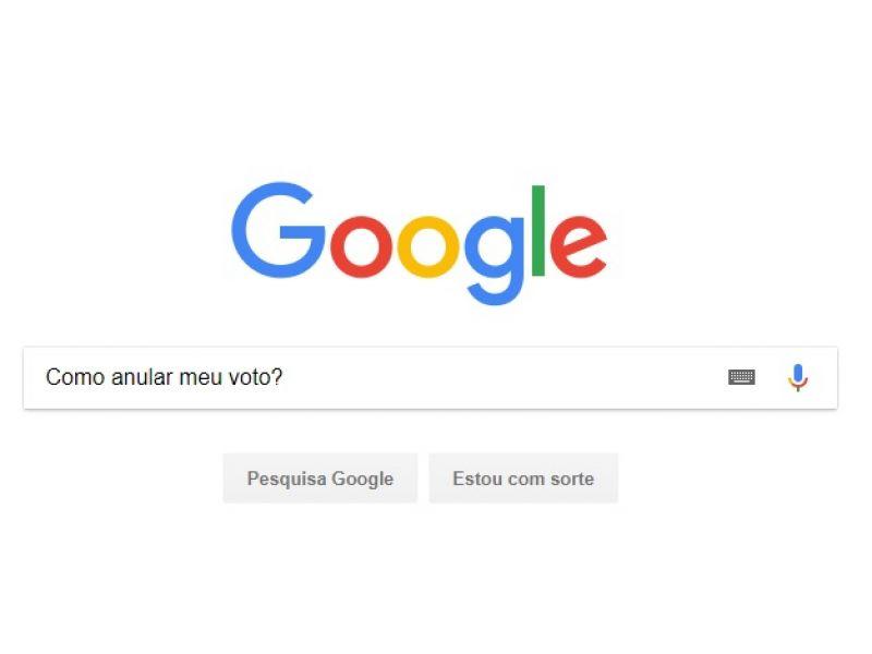 'Como anular meu voto?' e a pergunta mais pesquisada no Google