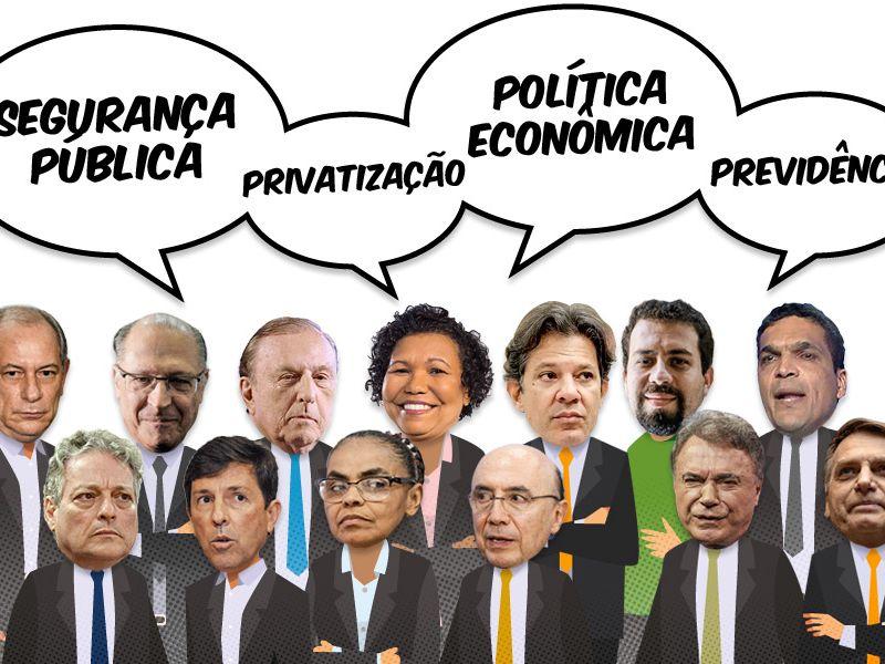 Propostas de governo dos candidatos ao cargo de Presidente da República