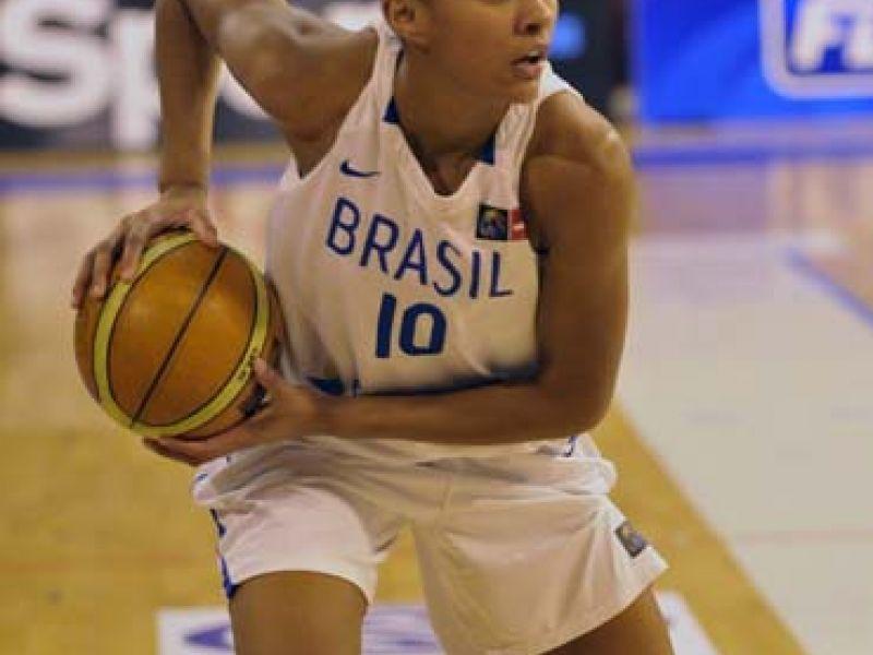 Basquete: Brasil perde a segunda no Torneio de Picardie