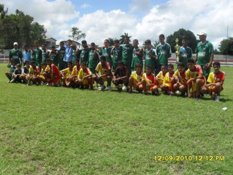 Torneios sub-11 e sub-13 movimentaram o futebol amador de Penedo
