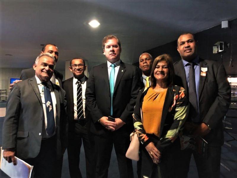 Vereadores penedenses voltam com boas notícias de Brasília