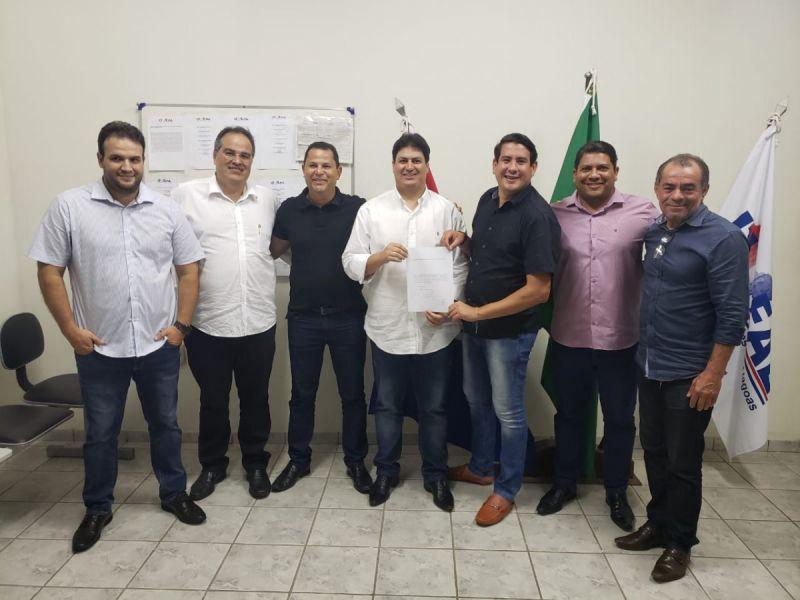 Vereador Eduardo Tenório registra chapa e confirma candidatura a presidência da Uveal