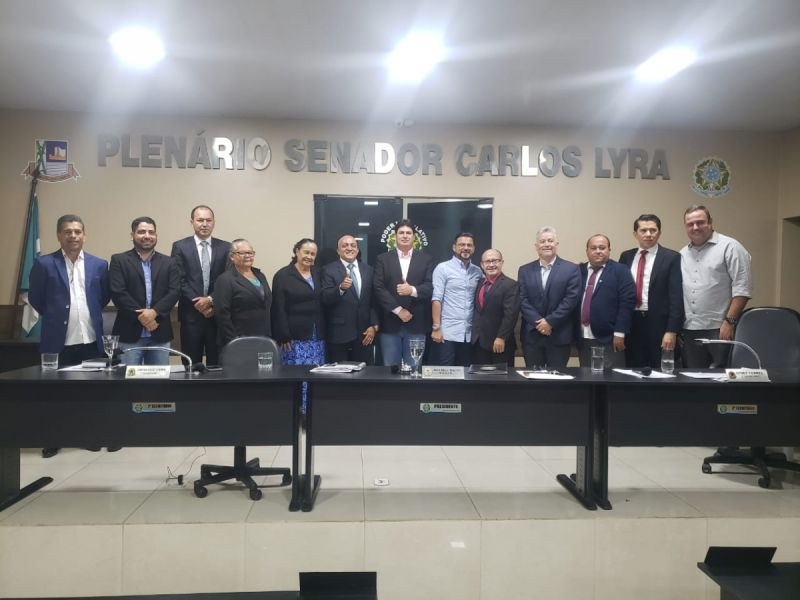 Vereador Eduardo Tenório intensifica campanha à presidência da Uveal