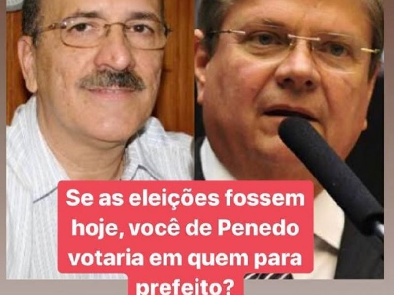 Enquete para prefeito de Penedo aponta Ronaldo Lopes como favorito ao cargo