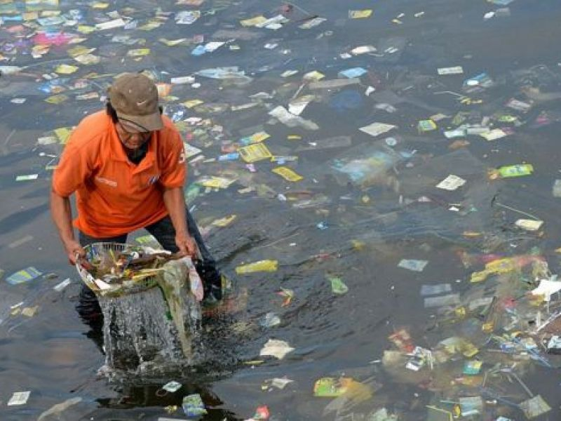 O plástico destrói vidas