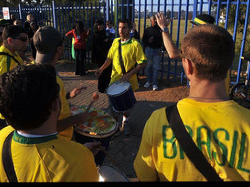 Brasil é segundo time na preferência dos sul-africanos