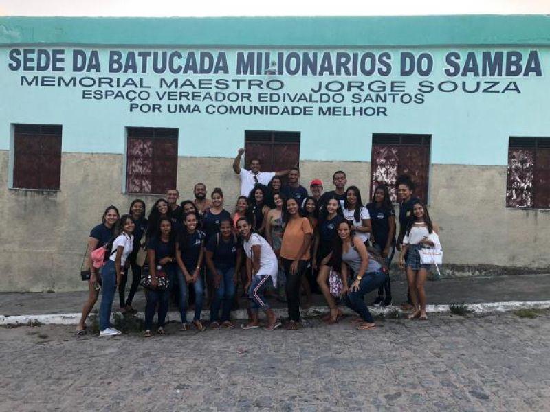 Acadêmicos de Turismo fazem pesquisa em Penedo