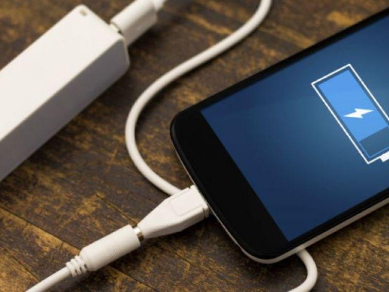 Tecnologia permite  carregar celular em 5 minutos