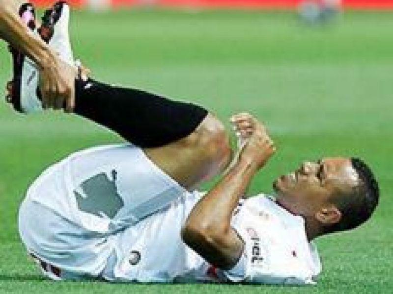 Também machucado, Luís Fabiano não jogará a final da Copa do Rei