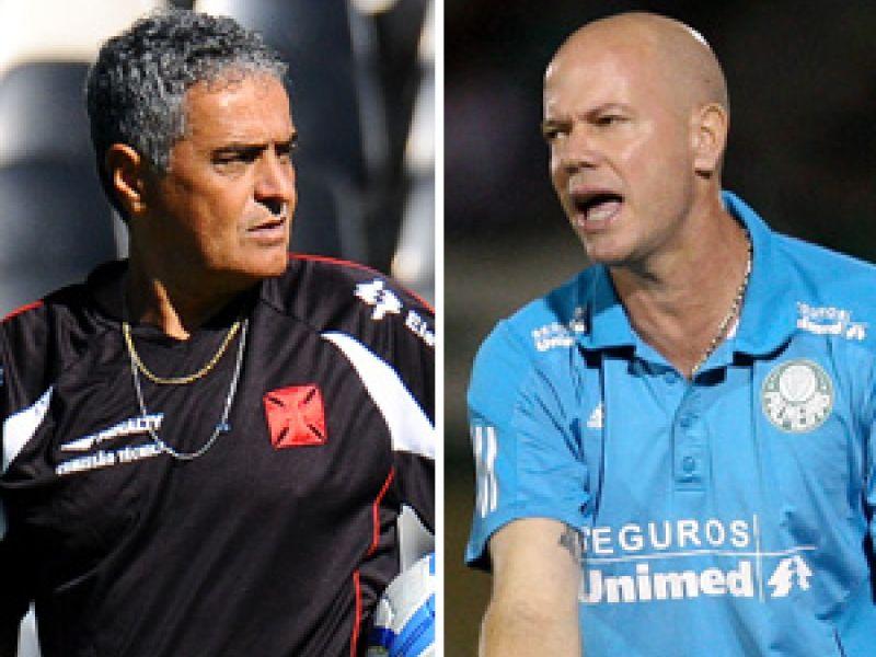 Vasco e Palmeiras realizam jogo de desconfiança das torcidas