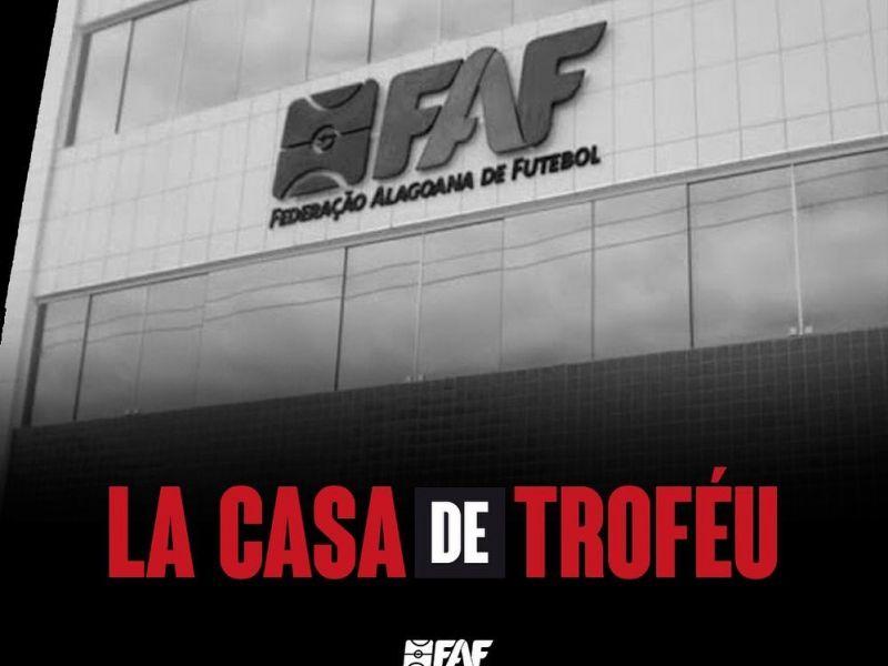 Roubo de troféu do Campeonato Alagoano 2020 foi ação de marketing