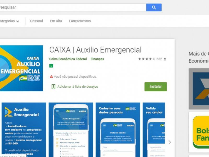 Coronavírus: aplicativo para auxilio emergencial é disponibilizado; baixe aqui!