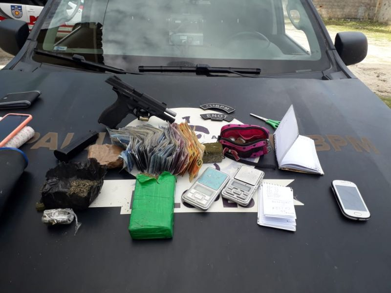 Polícia desarticula organização criminosa que atuava no tráfico de drogas em Penedo