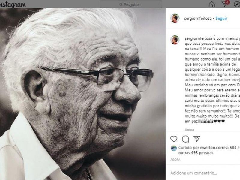 Morre em Maceió idoso que se curou da Covid-19