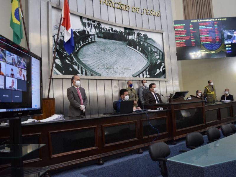 Deputados aprovam projeto que fixa os subsídios dos integrantes da Perícia Oficial em Alagoas