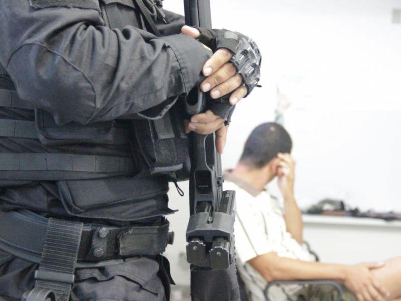 Polícia Civil de Malhador prende agressor de idoso e filha