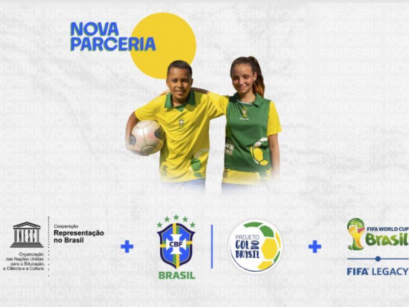 Nova parceria: CBF e UNESCO somam forças pelo projeto Gol do Brasil
