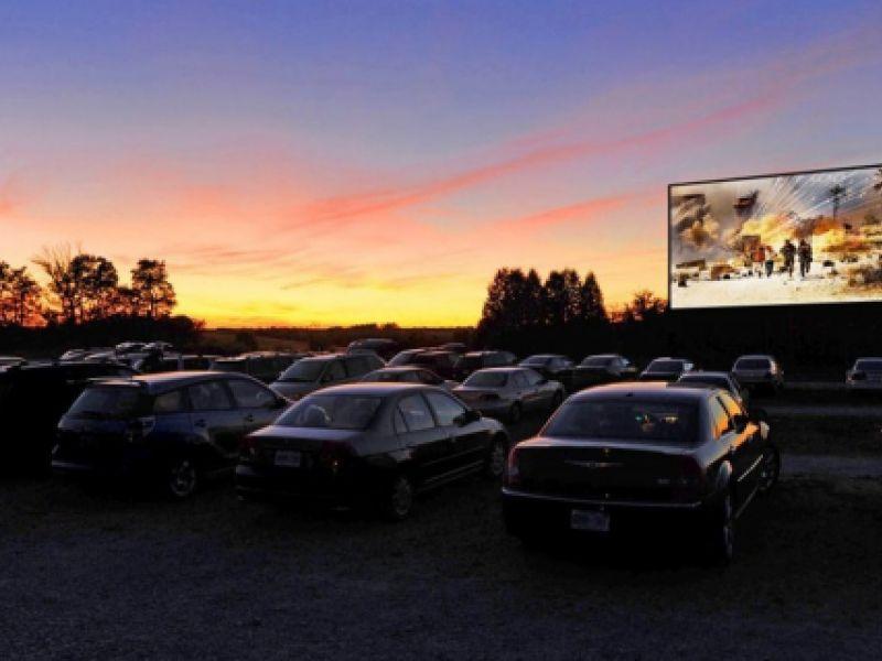 Cinemas em Drive-in, viram opção no distanciamento social