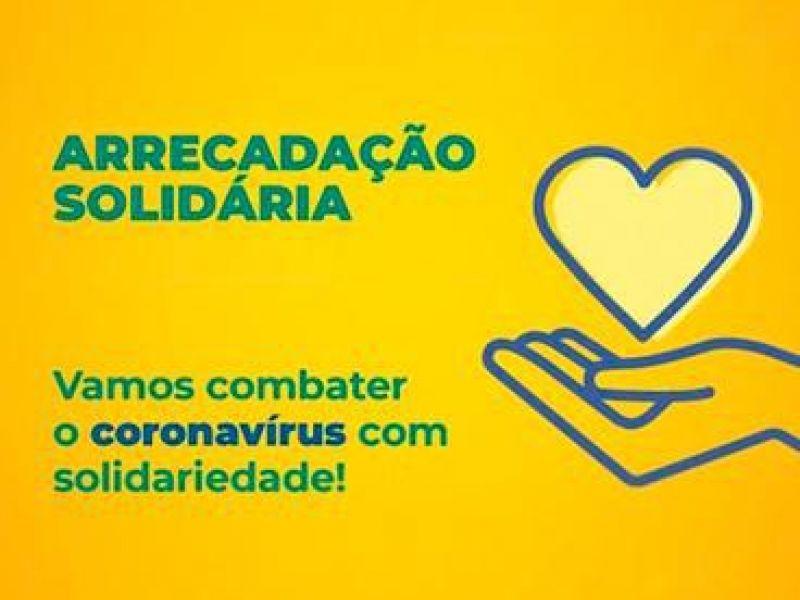 Projeto Arrecadação Solidária soma R$ 3,1 milhões em doações em menos de um mês