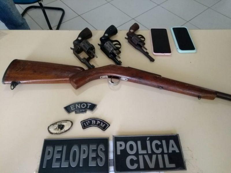 Operação Penedo Seguro é deflagrada para cumprimento de mandados expedidos pela 17ª Vara Criminal