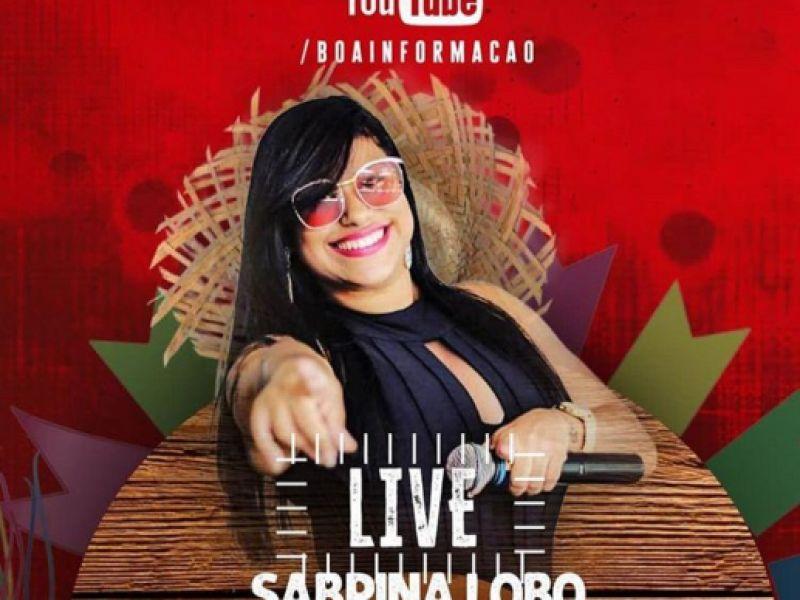 Em clima de São João, live de Sabrina Lobo acontecerá nesta sexta, 19, em Penedo