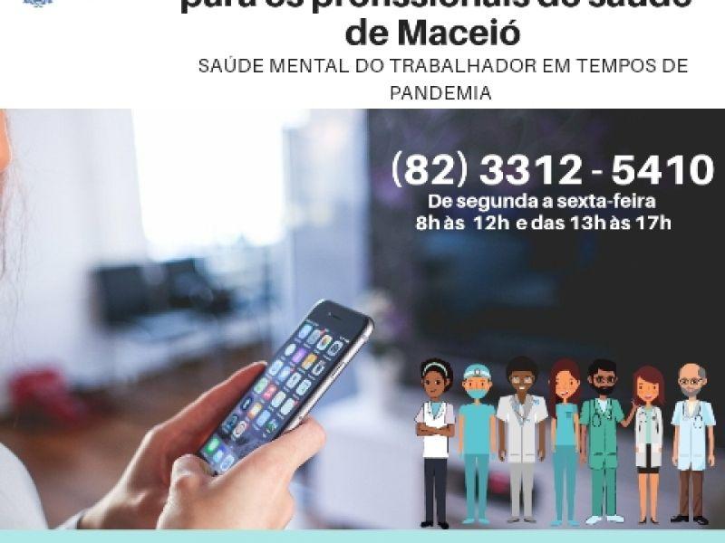 Saúde mental: SMS inicia teleatendimento para profissionais da saúde