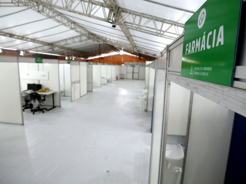 Estrutura do Hospital de Campanha garante atendimento de referência aos aracajuanos