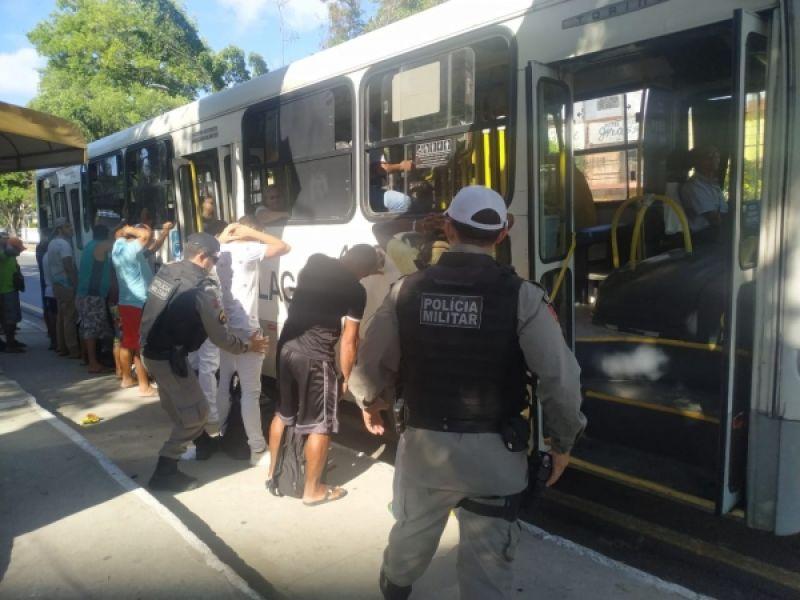 Marca histórica: SSP não registra assaltos a ônibus em Maceió no mês de junho