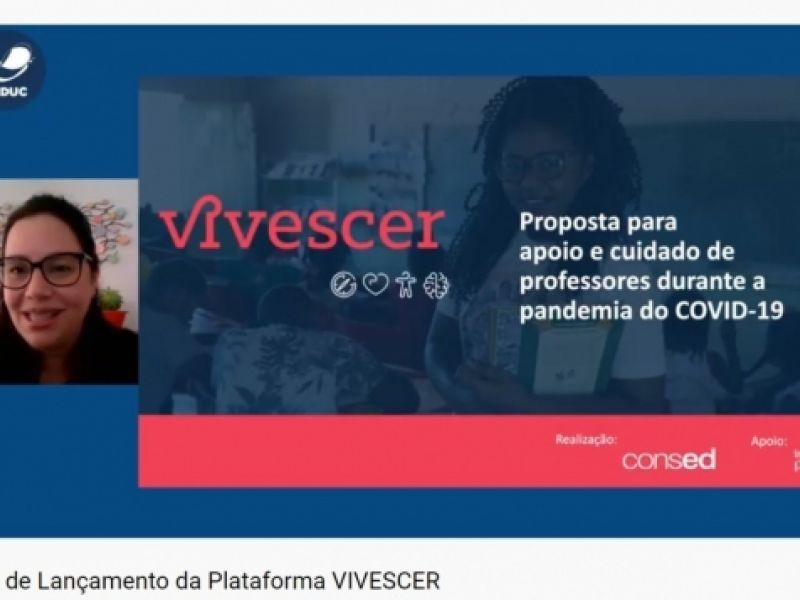Plataforma oferece formações e conteúdo de apoio emocional para professores