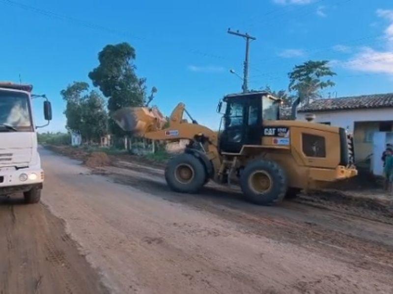 Assim como prometido, começa obra de rodovia que liga Penedo a São Sebastião