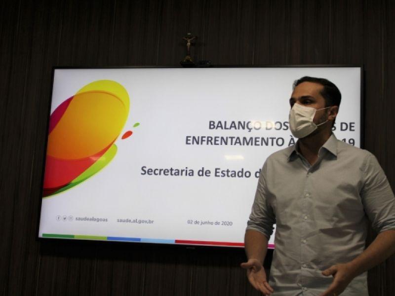 Em 90 dias, Alagoas internou quase quatro mil pacientes da Covid-19 em leitos SUS