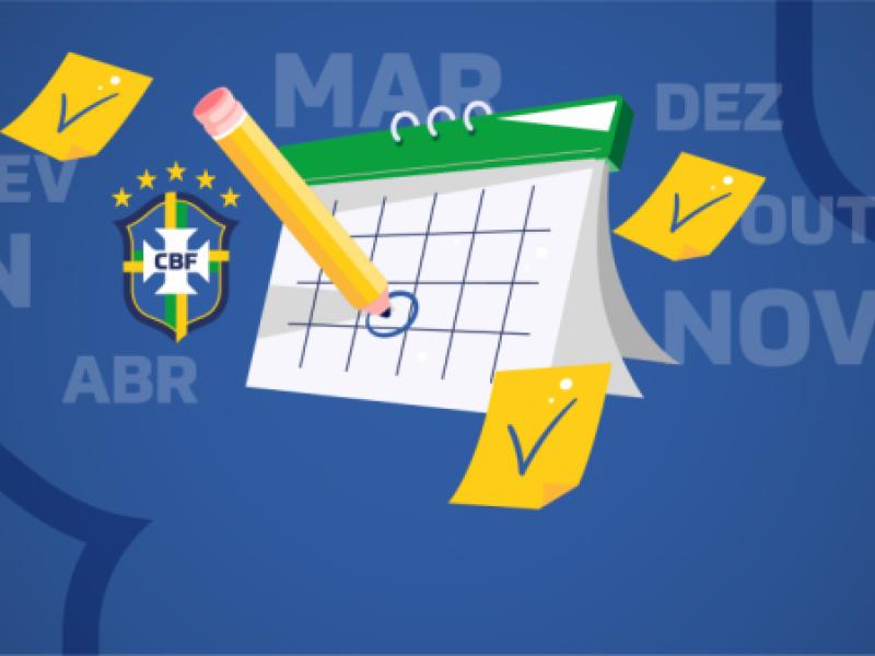 Futebol Brasileiro: CBF publica calendário revisado da temporada 2020