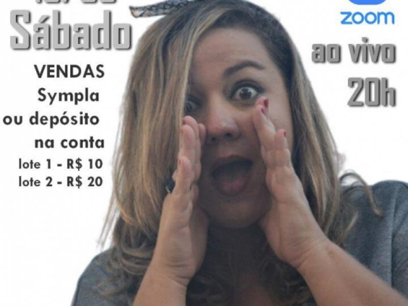Claudia Helena apresentará stand up comedy online no dia 15 de agosto