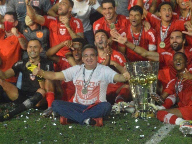 CRB vence o CSA por 1x0 e se torna campeão alagoano de 2020