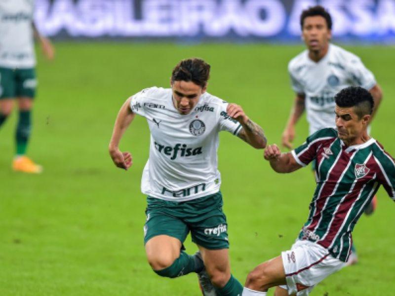 Fluminense e Palmeiras empatam no Estádio do Maracanã por 1x1