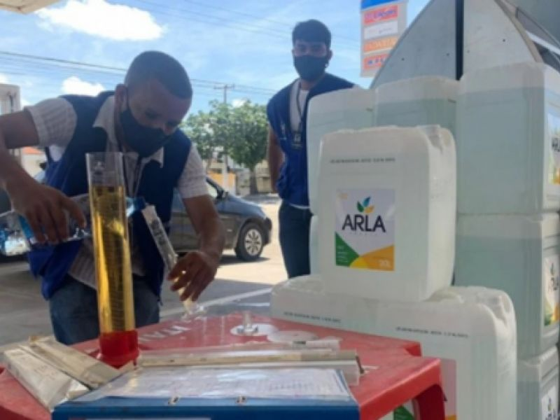 Operação flagra irregularidades em postos de combustíveis de Alagoas