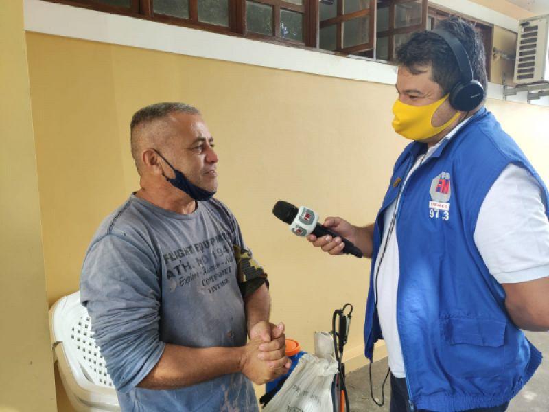 Homem que saiu a pé do Paraná para conhecer amor virtual em Piaçabuçu precisa de ajuda