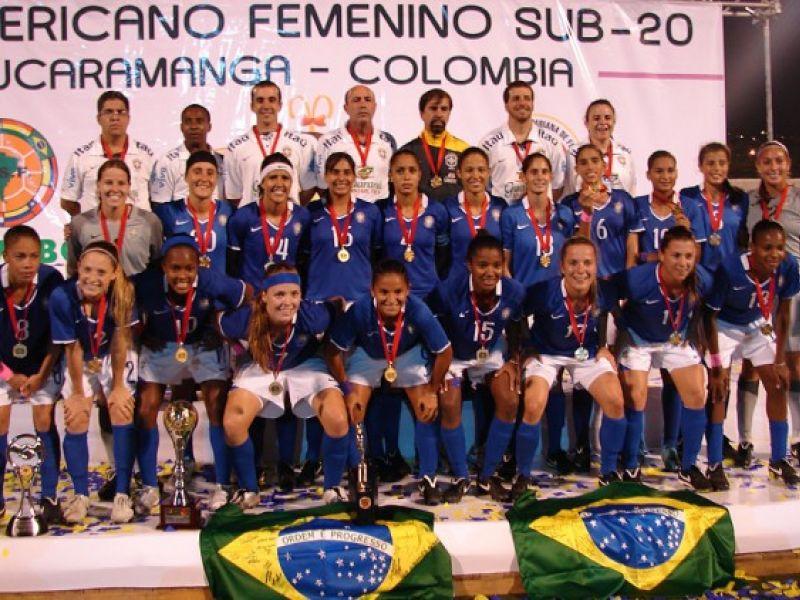 Meninas do Brasil conquistam o Sul-Americano Sub-20 de futebol