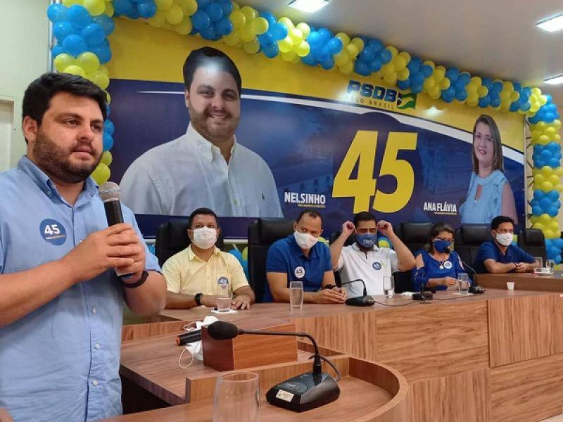 Convenção oficializa candidatura de Nelsinho e Ana Flavia pelo PSDB em Penedo