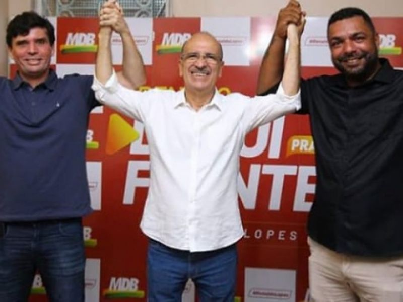 MDB realiza convenção nesta terça, 15, e deve confirmar apoio a Ronaldo Lopes e João Lucas