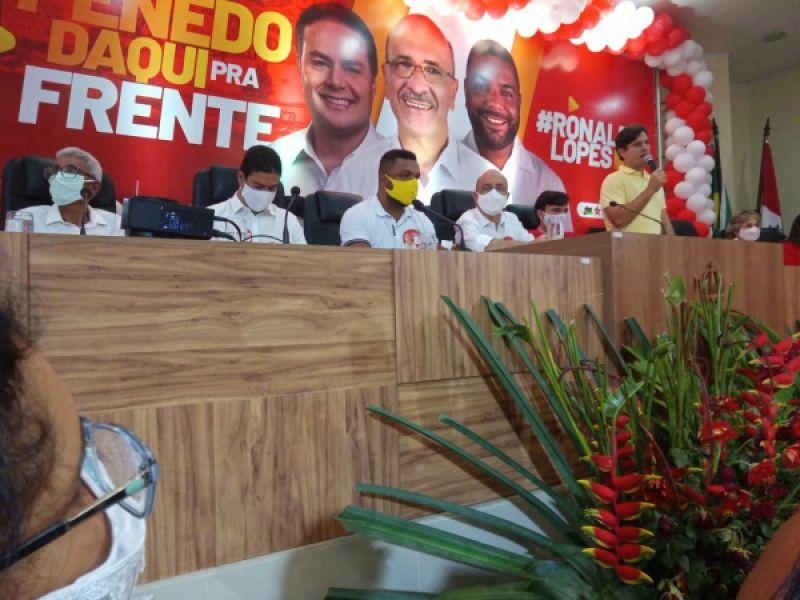 Ronaldo Lopes e João Lucas são oficializados como candidatos a prefeito e vice em Penedo