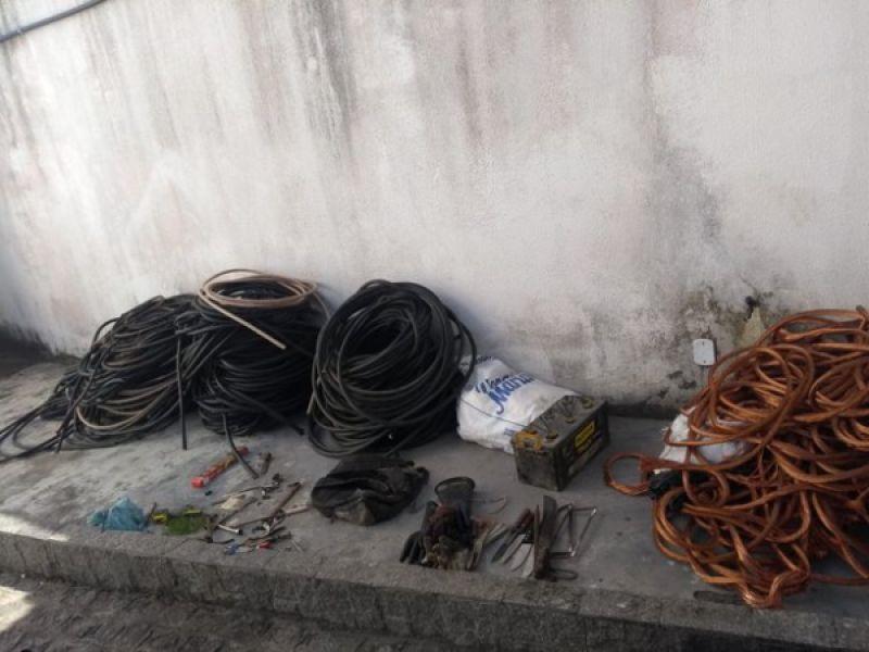 Suspeitos de furtar uma tonelada de fios de cobre em Penedo são presos em Sergipe